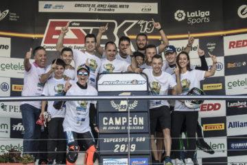 El Andotrans Team Torrentó gana el Campeonato de España de Superbike con Oscar Gutiérrez